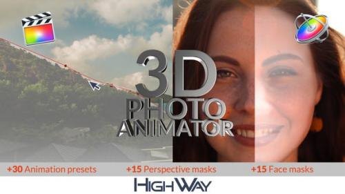 Videohive - 3D Photo Animator for FCPX