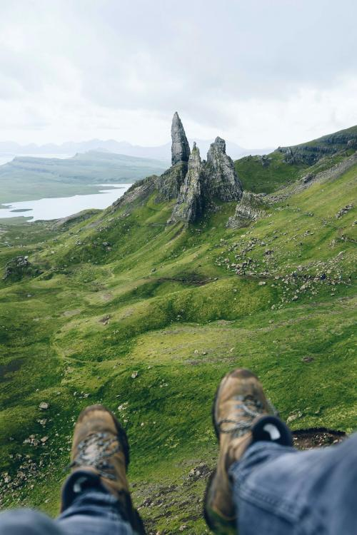 The Storr rocky hill in Scotland - 1017169