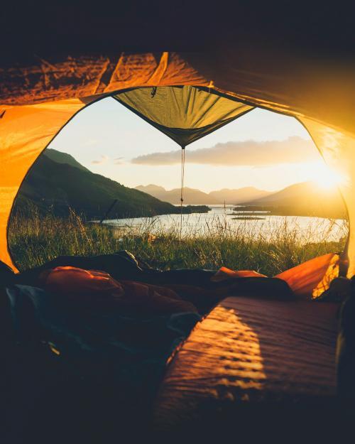 Camping in Ballachulish in Highland, Scotland - 1017171