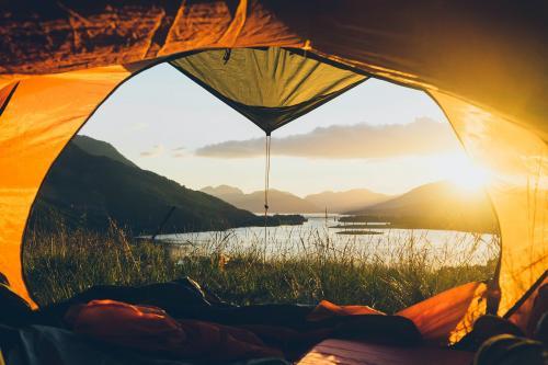 Camping in Ballachulish in Highland, Scotland - 1017174