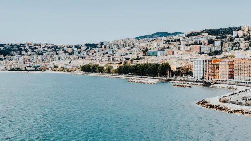 View of Naples coastline, Italy - 1198231