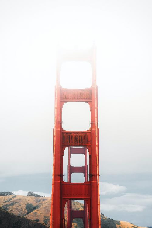 View of the Golden Gate Bridge, San Francisco, United States - 1204763