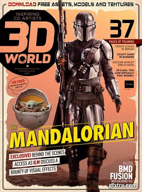 3D World UK - September 2020 (True PDF)