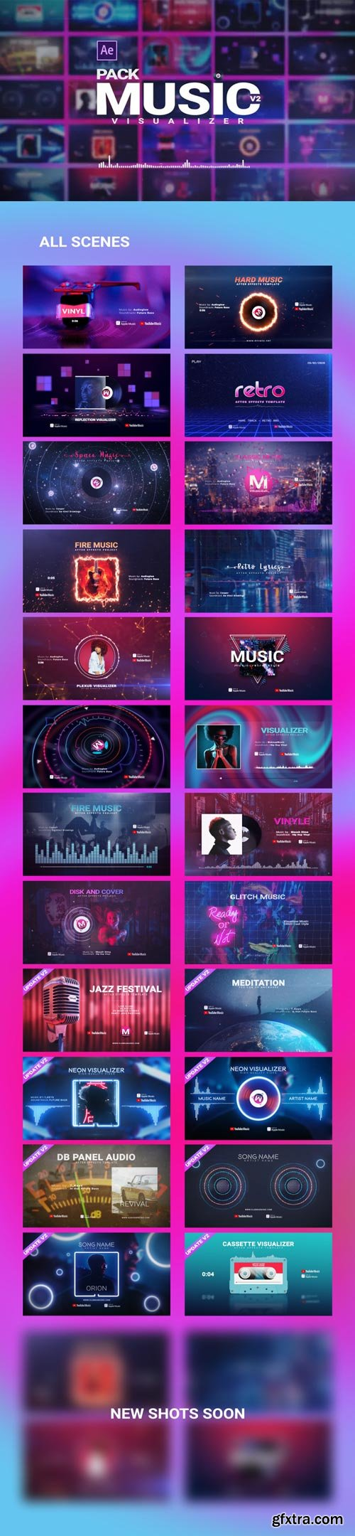 Videohive - Music Visualizer Pack V2 - 26261391