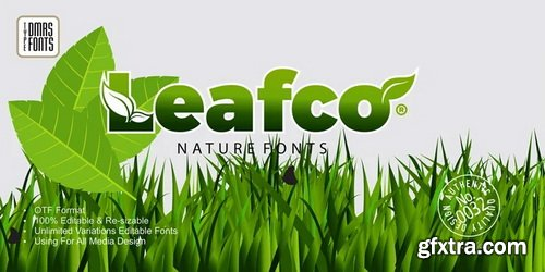 Leafco Font Family