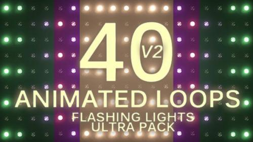 Videohive - Flashing Lights Ultra Pack Volume 2