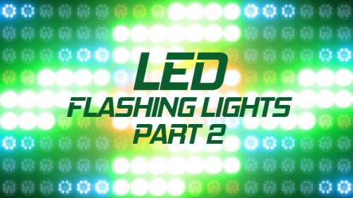 Videohive - Led Flashing Lights Part 2