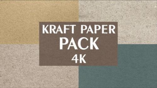 Videohive - 4k Kraft Paper Pack