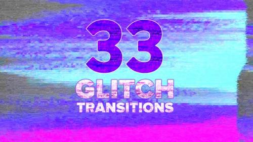Videohive - Glitch Transitions Pack