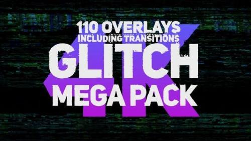 Videohive - Glitch Mega Pack 4K