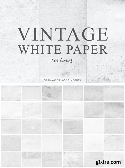 White Vintage Paper Textures