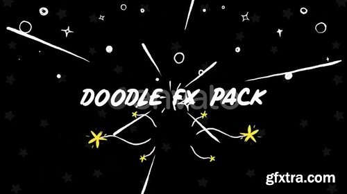 Videohive - Doodle Fx Pack - 25756545