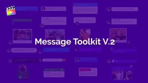 Videohive - Message Toolkit V.2