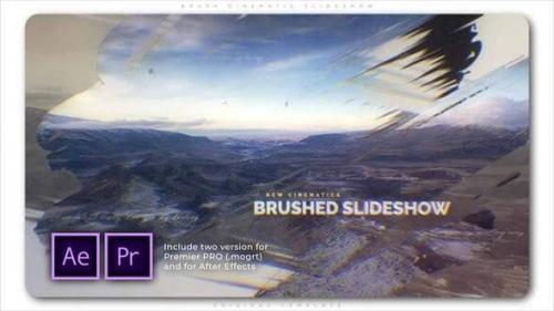 Videohive - Brush Cinematic Slideshow