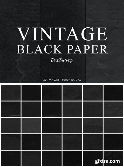 Black Vintage Paper Textures 2