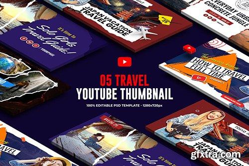 Travel, Vacation Youtube Thumbnail