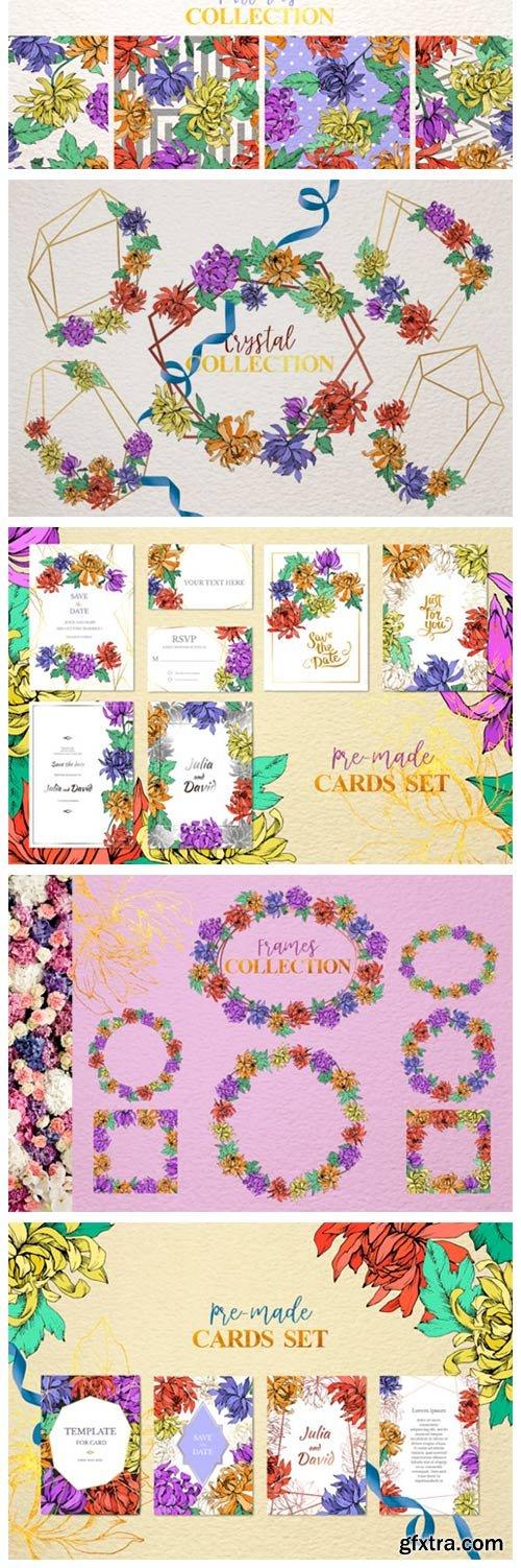 Chrysanthemum Vector Flowers 4757005