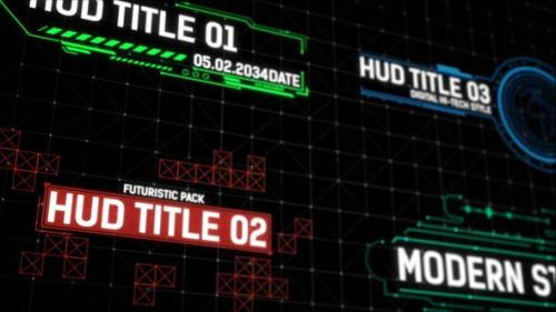 Videohive - HUD Titles