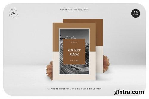 CreativeMarket - Vocket Travel Magazine 5203400