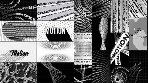 Videohive - Typographic Kinetic Posters & Titles