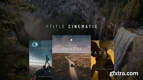 MotionVFX - mTitle Cinematic FCPX 10.4.6 | 50 FCPX titles