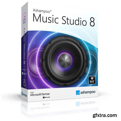 Ashampoo Music Studio 8.0.4 Multilingual Portable