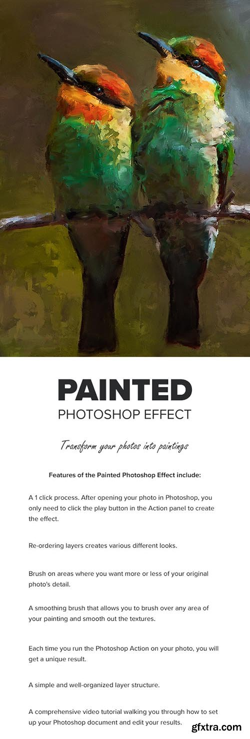 GraphicRiver - Painted Photoshop Effect 27674056