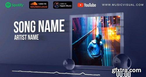 Videohive - Glass Audio React Music Visualizer - 27903768