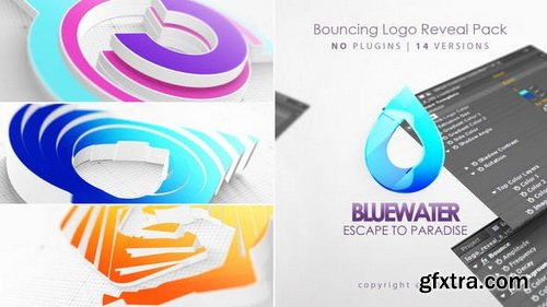 Videohive - Bouncing 3D Logo Reveal - 27859474