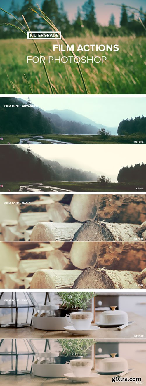 Film Actions for Photoshop [4-Filters]