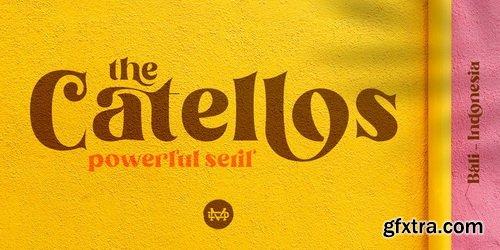 Catellos Font Family