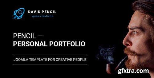 ThemeForest - Pencil v1.0.1 - Personal Portfolio and One Page Resume, Responsive Joomla Template - 21346375