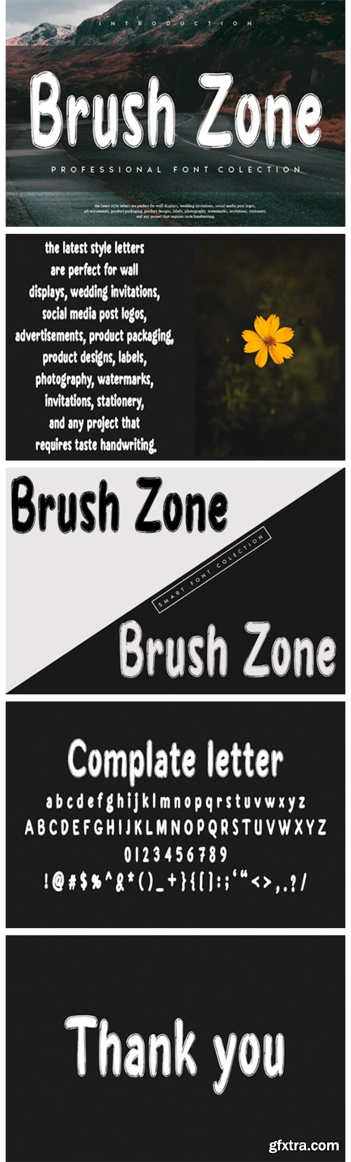 Brush Zone Font