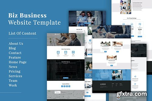 Biz Business Website Template