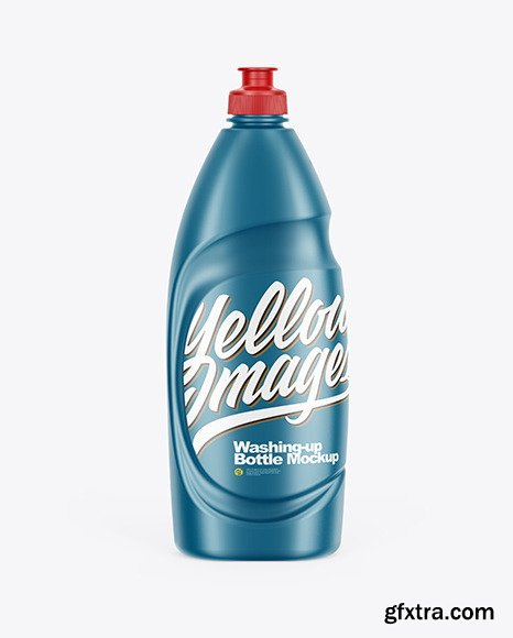 Matte Washing-up Bottle Mockup 65197