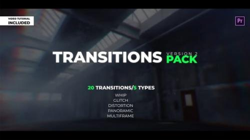 Videohive - Transitions Pack V.2