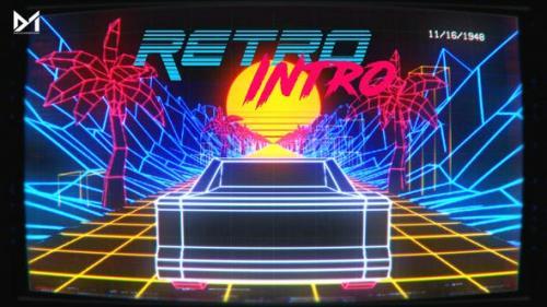 Videohive - Retro Intro