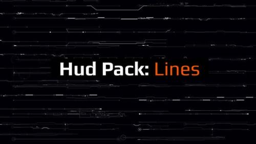 Videohive - Hud Pack - Lines