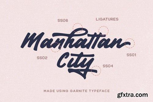 CreativeMarket - Garnite - Handwritten Script - 5255120