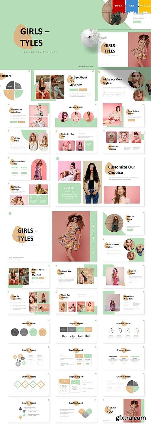 Girl Tyles | Powerpoint, Keynote, Googleslides