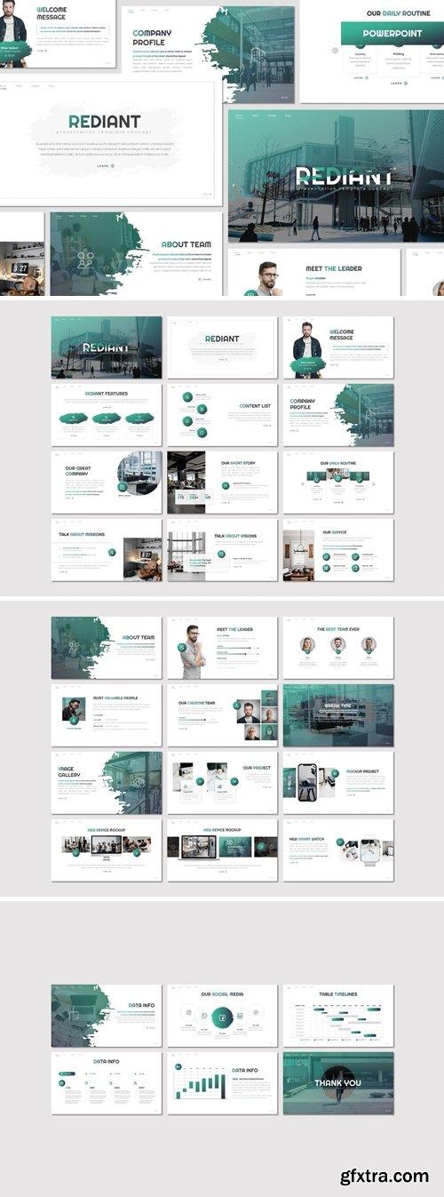 Rediant - Multipurpose Powerpoint, Keynote, Googleslide Template