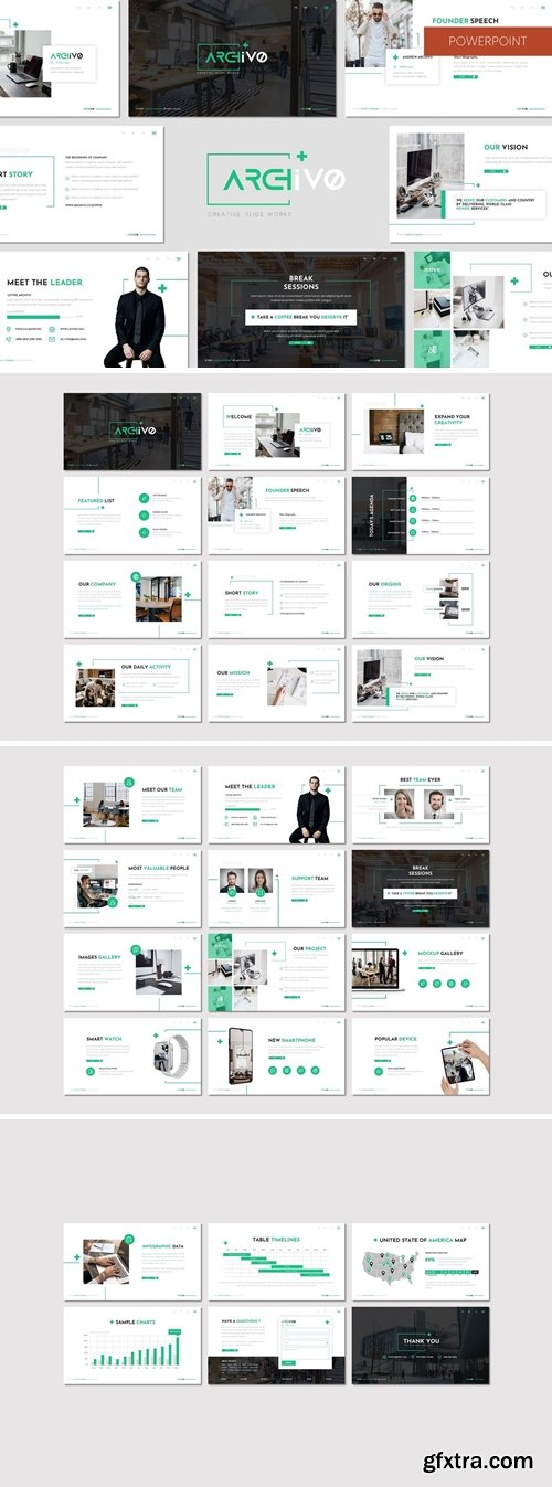 Archivo - Business Powerpoint, Keynote, Googleslide Template