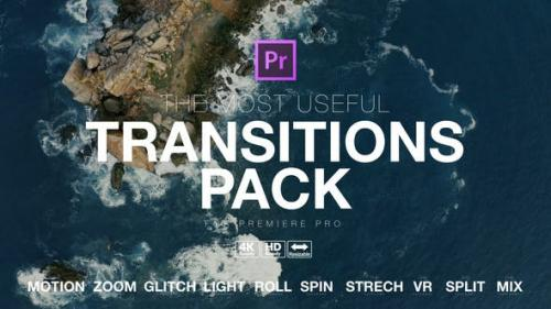 Videohive - The Most Useful Transitions Pack for Premiere Pro