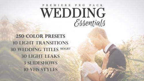 Videohive - Wedding Essentials Pack for Premiere Pro