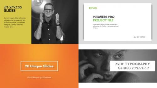 Videohive - Typography Slides - for Premiere Pro | Essential Graphics
