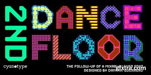 2nd Dance Floor Font Family