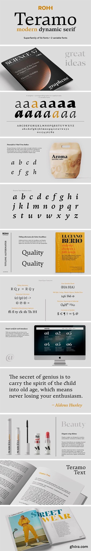 Teramo Font Family