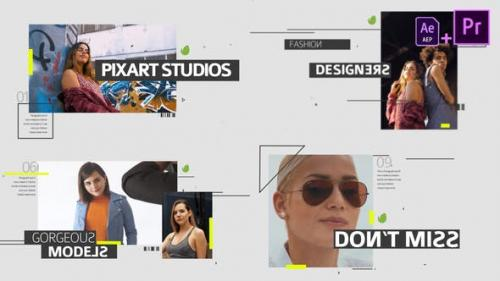 Videohive - Fashion Media Opener Mogrt