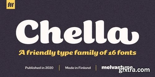 Chella Font Family
