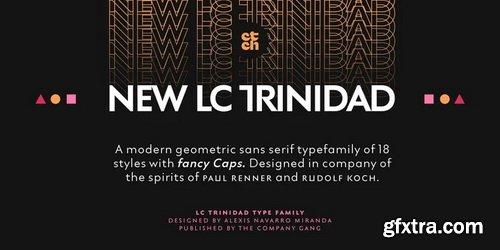 LC Trinidad Font Family